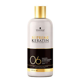 Schwarzkopf Supreme Keratin 06 Conditioning Gloss Mask 250ml