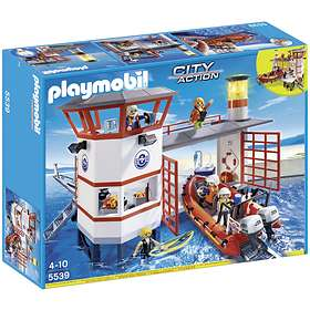 Playmobil City Action 5539 Coast Guard Station with Lighthouse
