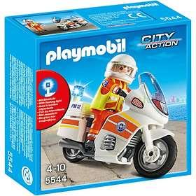 Playmobil City Action 5544 Ambulansmotorcykel med Ljus