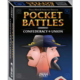 Z-Man Games Pocket Battles 4: Confederacy vs Union