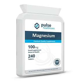 Pulse Healthcare Magnesium 100mg 240 Tabletter