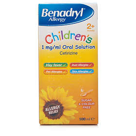 Benadryl Children's Elixir 100ml