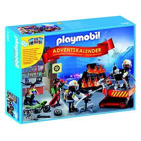 Playmobil Christmas 5495 Brandkårsinsats Advent Calendar 2014