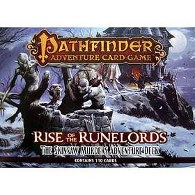 Paizo Pathfinder: Adventure Kortspel: Rise Of The Runelords-The Skinsaw Murders