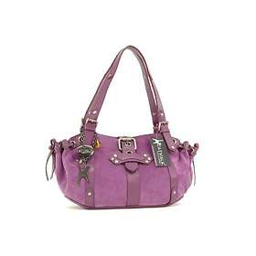 Catwalk Collection Handbags Suede Leather Bag Caprice