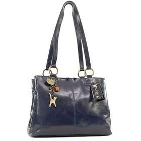 Catwalk Collection Handbags Big Tote/Shoulder Bag BellstoneNavy