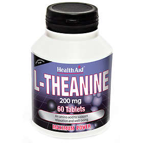 HealthAid L-Theanine 200mg 60 Tablets