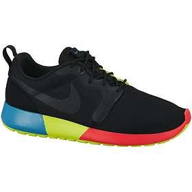 Billig Nike Roshe One Mesh Dame Sko Sort Grå Nike Roshe