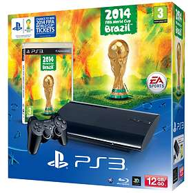 Sony PlayStation 3 Slim 12GB (incl. 2014 FIFA World Cup Brazil)