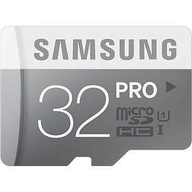 Samsung Pro microSDHC Class 10 UHS-I U1 90/80MB/s 32GB