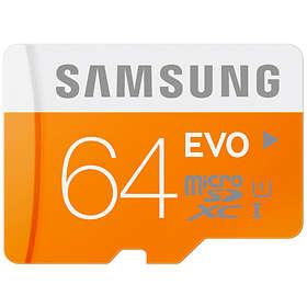 Samsung Evo microSDXC Class 10 UHS-I 64GB
