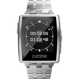 Pebble Steel Smartwatch Metal