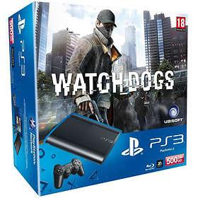 Sony PlayStation 3 Slim 500GB (+ Watch Dogs)