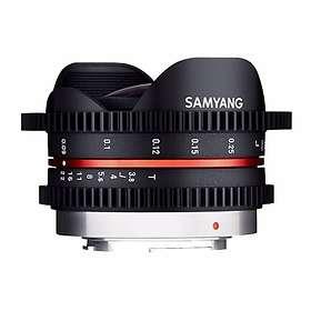 Samyang MF 7,5/3,8 Fisheye VDSLR for Olympus/Panasonic m4/3