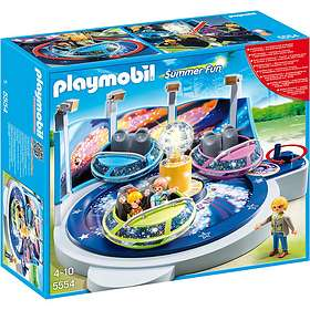Playmobil Summer Fun 5554 Spinning Spaceship Ride with Lights