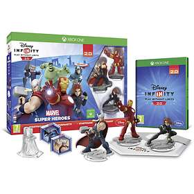 Disney Infinity 2.0: Marvel Super Heroes - Starter Pack Nordic Edition