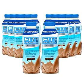 Multipower Fit Protein Lite 500ml 12-pack