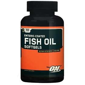 Optimum Nutrition Enteric-Coated Fish Oil 100 Kapslar