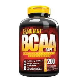 Mutant Nutrition BCAA 200 Capsules