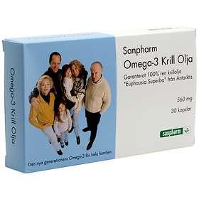 Sanpharm Omega-3 Krill Olja 30 Kapslar