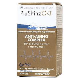 Minami Nutrition PluShinzO-3 Anti Aging 30 Capsules