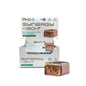 PhD Nutrition Synergy ISO-7 Bar 70g 12pcs