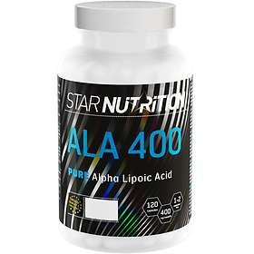 Star Nutrition ALA 400 120 Kapslar