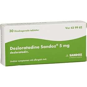 Sandoz Desloratadine 5mg 30 Tabletter