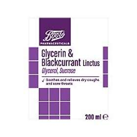 Boots Glycerin and Blackcurrant Linctus Elixir 200ml