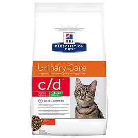 Hills Feline Prescription Diet CD Urinary Care Stress Reduced Calorie 4kg