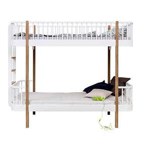 Oliver Furniture Wood Våningssäng (stege kortsida)
