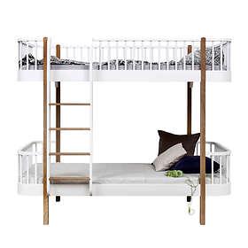 Oliver Furniture Wood Våningssäng (stege långsida)