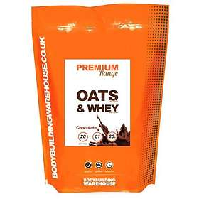 Bodybuilding Warehouse Premium Oats and Whey 4kg