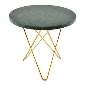OX Denmarq O Table Mini Soffbord Ø40cm (marmor)
