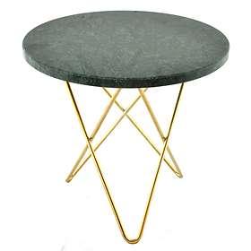 OX Denmarq O Table Tall Mini Soffbord Ø50cm (marmor)