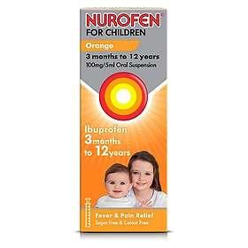 Reckitt Benckiser Nurofen for Children 100mg/5ml Oral Suspension 200ml