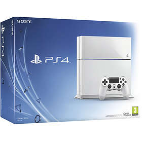 Sony PlayStation 4 500Go - White Edition