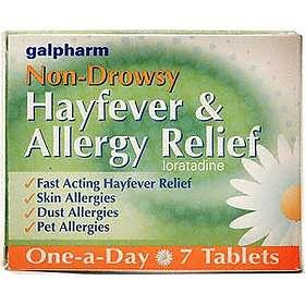 Perrigo Galpharm Hayfever & Allergy Relief Non-Drowsy 7 Tablets