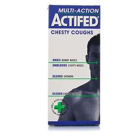 GSK GlaxoSmithKline Actifed Multi-Action Chesty Coughs Elixir 100ml