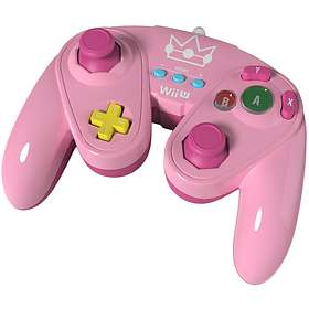 PDP Wii U Fight Pad Controller - Peach Edition (Wii U)