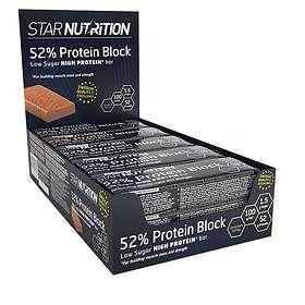 Star Nutrition 52% Protein Block Bar 100g 12st