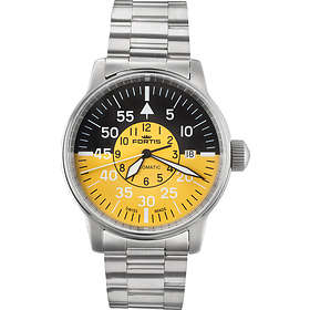 b3dc843b3f1 Find the best price on Fortis Watches Flieger Cockpit 595.11.14 M ...