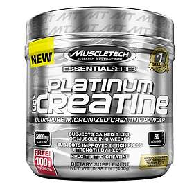 MuscleTech Platinum Creatine 0.4kg