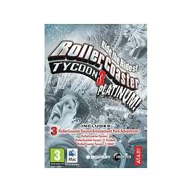 RollerCoaster Tycoon 3 - Platinum!