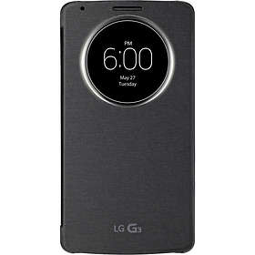 LG Quick Circle Snap-On Folio Case for LG G3