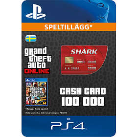 Grand Theft Auto Online: Red Shark Cash Card - $100.000 (PS4)