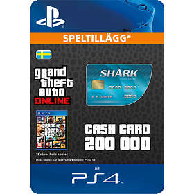 Grand Theft Auto Online: Tiger Shark Cash Card - $200,000 (PS4)