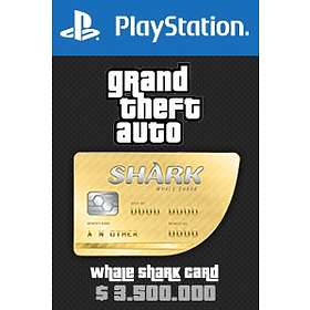Grand Theft Auto Online: Whale Shark Cash Card - $3,500,000 (PS4)
