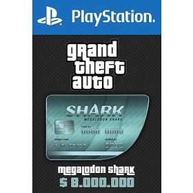Grand Theft Auto Online: Megalodon Shark Cash Card - $8,000,000 (PS4)