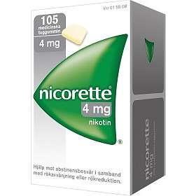 McNeil Nicorette Medisinsk Tyggegummi Sugar-Free 4mg 105stk